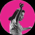 Danseuse sur l'affiche de FESTIMIXX