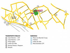 Plan accès Festimixx